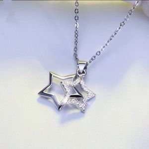 100% Real 925 Sterling Silver PendantsNecklace
